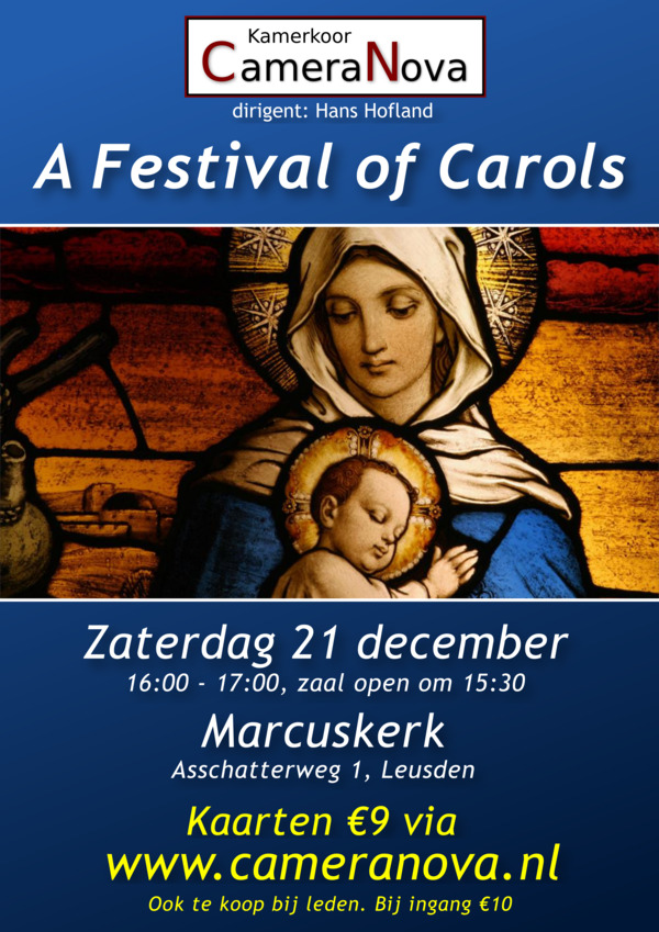 Kerstconcert 21 december 2019